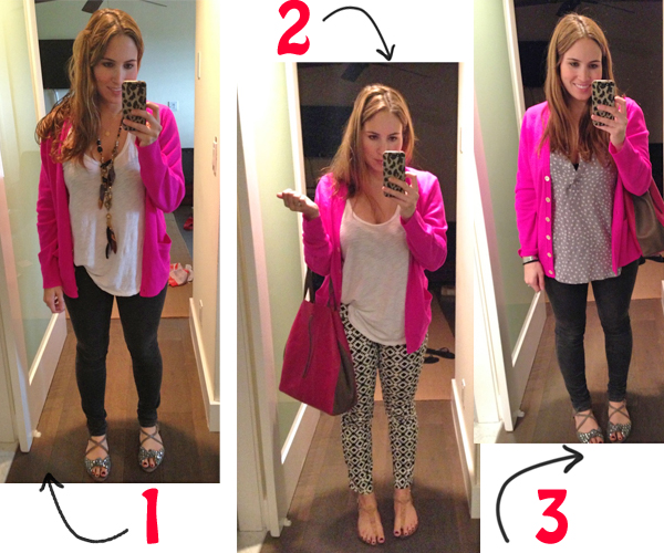 Hot Pink Sweater Three Ways - Koko Likes — Koko Likes