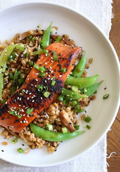 Asian-Salmon-and-Farro-Medley