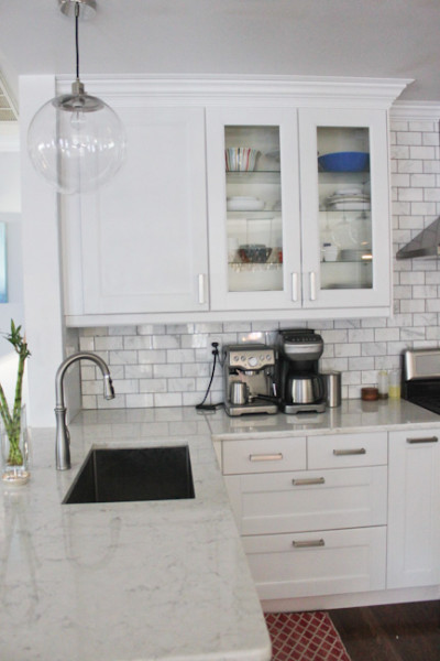 Out Cabinets Are All Ikea! We Saved A Ton Of Money By Buying Them During  Their Kitchen Event Where We Got 20% Off. We Also Saved A Ton Of Money By  Having ...